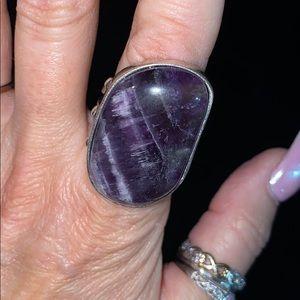 Lucky Brand purple ring